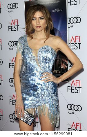 LOS ANGELES - NOV 10:  Blanca Blanco at the AFI FEST 2016 - Opening Night - Premiere Of 20th Century Fox's 'Rules Don't Apply' at TCL Chinese Theater on November 10, 2016 in Los Angeles, CA