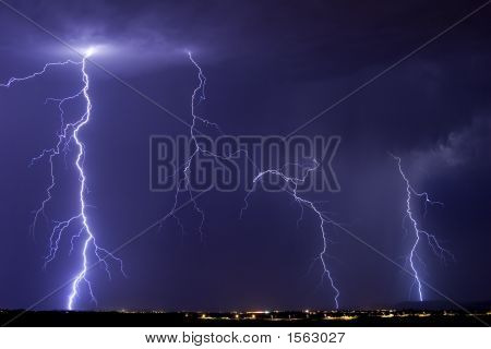 Catalina Lightning Storm