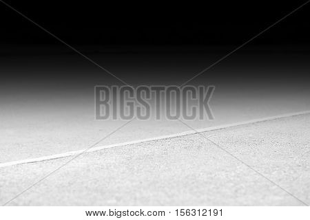 Transport city road pavement with black void background hd