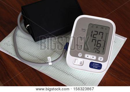 Cardiogram / Health and Medical / ECG heart / Blood Pressure Monitor