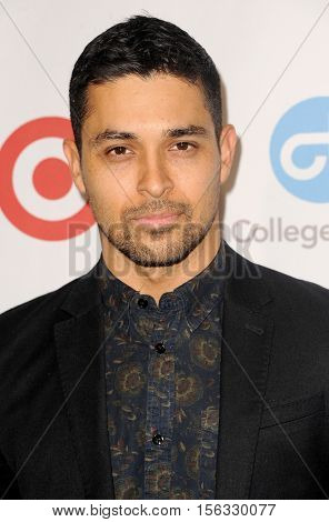 Wilmer Valderrama at the 5th Annual Eva Longoria Foundation Dinner held at the Four Seasons Hotel in Beverly Hills, USA on November 10, 2016.