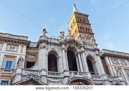 Basilica Di Santa Maria Maggiore, Rome, Italy.