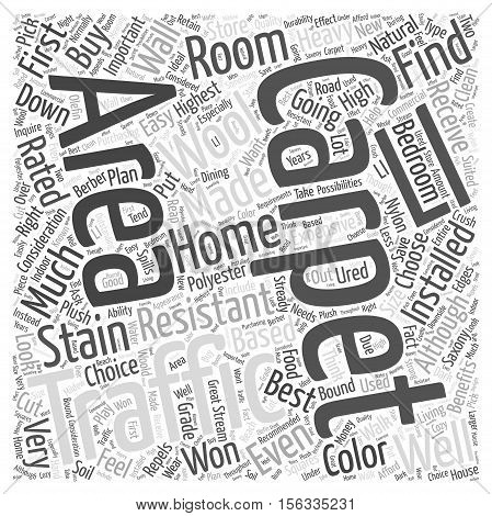 Right Carpet For Your Home word cloud concept