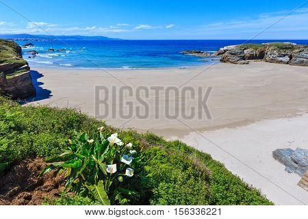 Summer Atlantic Coast And Beach (galicia).