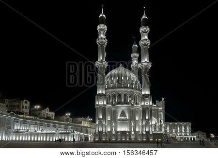 The New Heydar Mosque In Baku