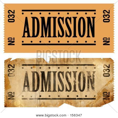 Admissions Ticket