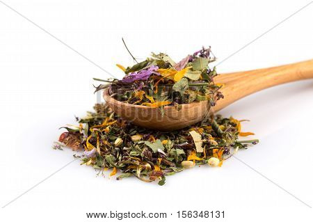 Dried Herbal Tea Leaves