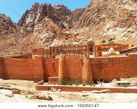 Monastery of St. Catherine in Egypt Sinai