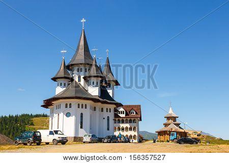 Prislop, Romania July 05, 2015: Orthodox Church In Manastirea Prislop, Maramures Country, Romania
