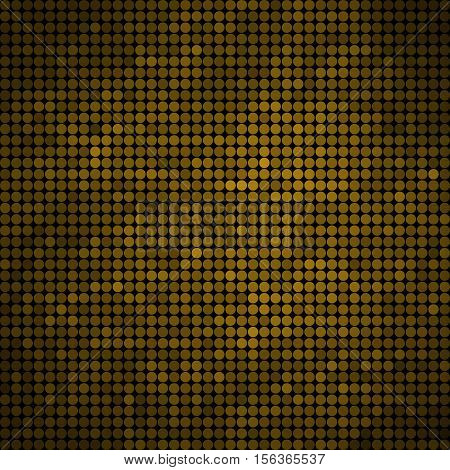 abstract vector colored round dots background - green and yellow