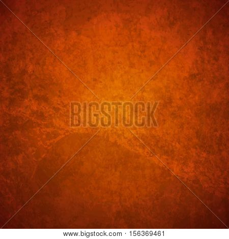 abstract vector grunge background - orange and brown