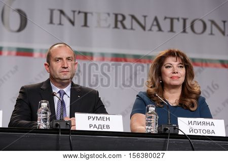 Rumen Radev And Iliana Iotova