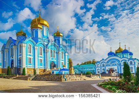 Zadonsk Men Nativity  Our Lady Convent Lipetsk Oblast Russia