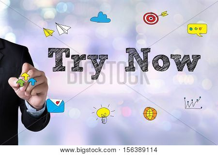 Try Now New Things Try It Just Try