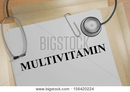 Multivitamin - Medical Concept