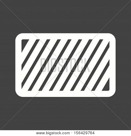 Caution, sign, warning icon vector image. Can also be used for warning caution. Suitable for use on web apps, mobile apps and print media.