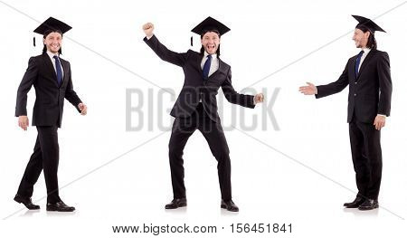 Businessman ready for executive MBA poster
