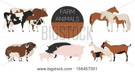 Farm Animal Family_0