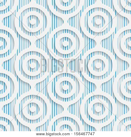 Seamless Damask Pattern. Abstract Beautiful Background. Modern Symmetrical Wallpaper. 3d Decorative Design. Wrapping Paper Texture