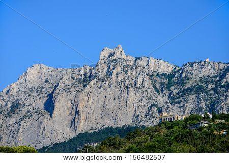 The view of Mount Ai Petri. Crimea.