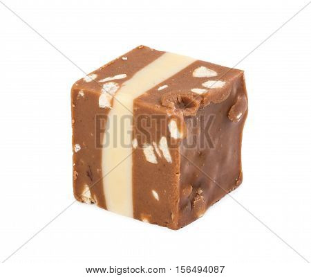 Candy With Soft Nougat And Almonds