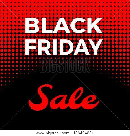 Black Friday Advertising Poster Design Vector Template