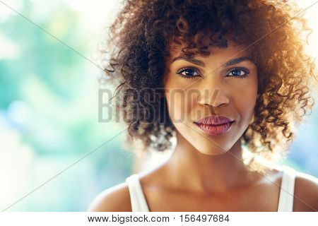 Charming Black Woman.