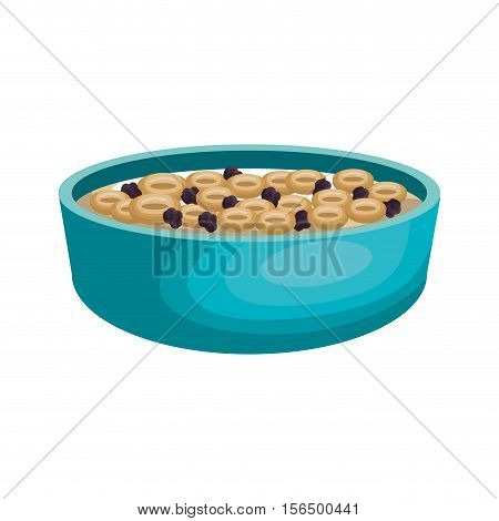 cereal plate isolated icon vector illustration design