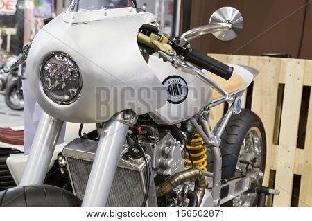 Custom Motorbike On Display At Eicma 2016