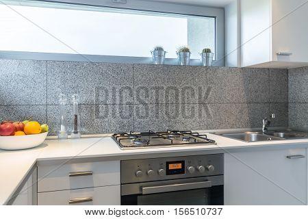 Modern Kitchen In A Light House