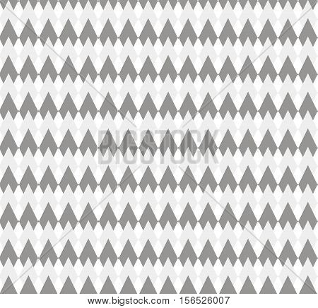 Grey pattern with rhombuses. Vector seamless pattern