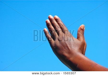 Praying Black Hands