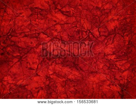 Artistic hand painted multi layered red paper background - made for christmas purpose
