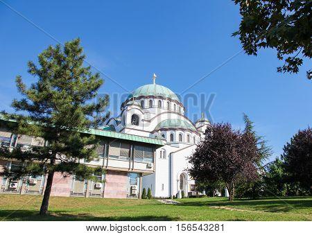 The Church Of Saint Sava In Belgrade, Serbia