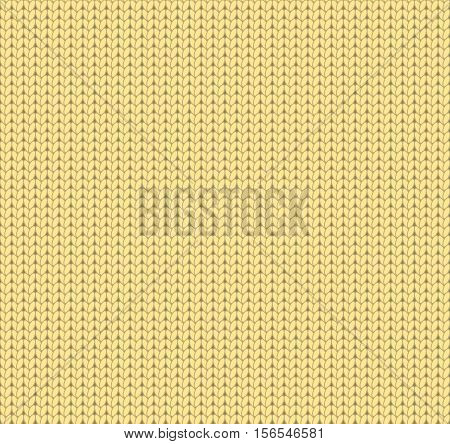 Knitted yellow texture, knitted yellow pattern, yellow textile