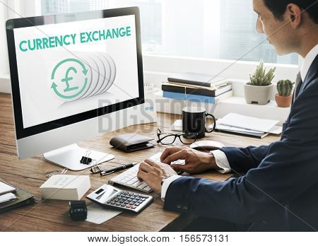 Money Currency Exchange Investment Concept