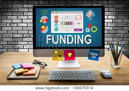 Funding Economy Financial Fund Funding Supporters Investment Fund Collection