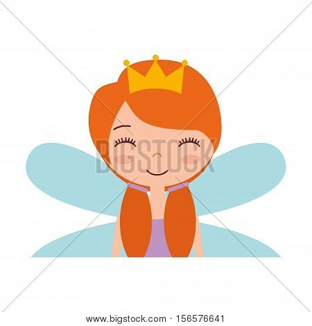 cute Fairy Godmother character vector illustration design