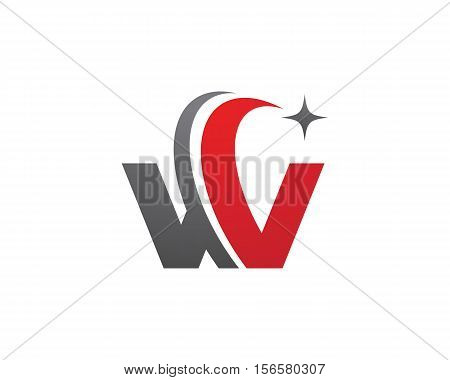 W Letter Logo Faster Logo template vector icon design