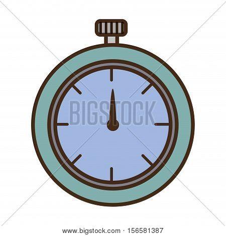 chronometer watch isolated icon vector illustration design