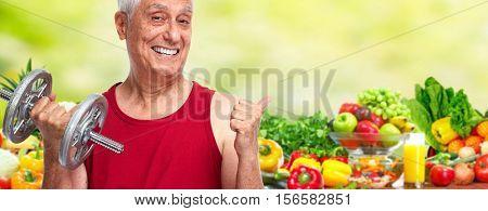 Weightloss senior man