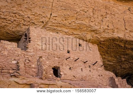 Cliff Dwelling in Mesa Verde National Park, Colorado, USA