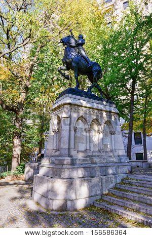 Joan Of Arc Memorial - New York City