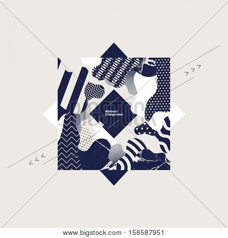 Abstract decorative square.