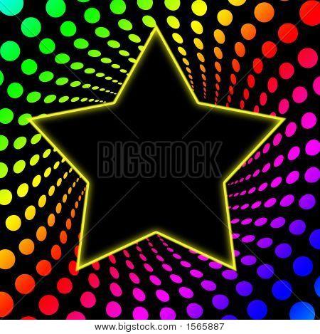 70's Superstar Rainbow Twirl