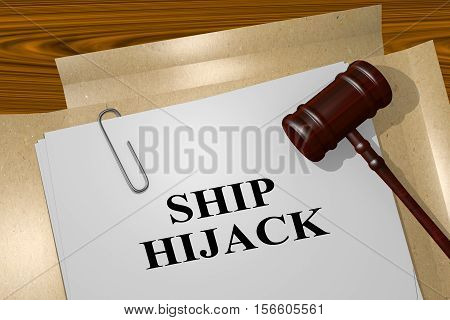 Ship Hijack Concept