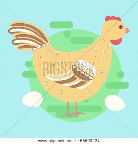 Chiken Hen Bird
