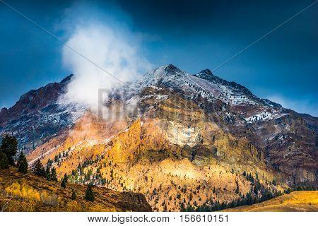 Boulder Mountains Near Ketchum Idaho