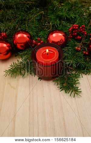 Christmas decorations-wooden board