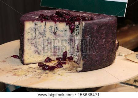 Gorgonzola Italian Cheese for Sale in Market